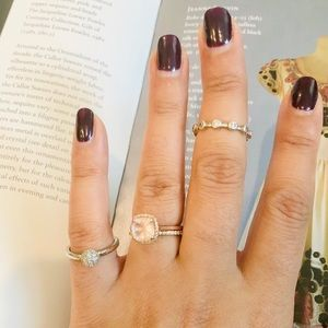 Silpada Sterling Silver Stacking Rings size 6
